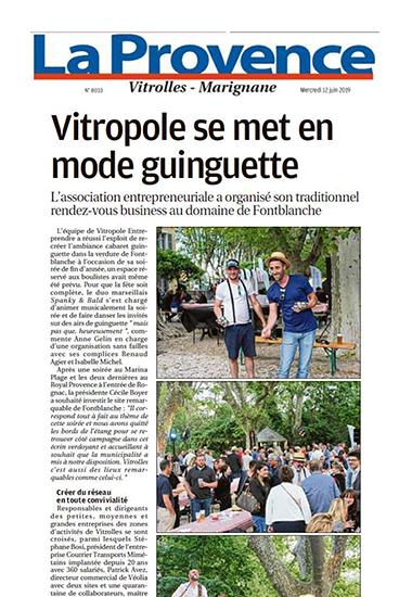 La Provence 12/06/19